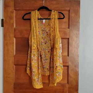 Kimono style vest from walmart